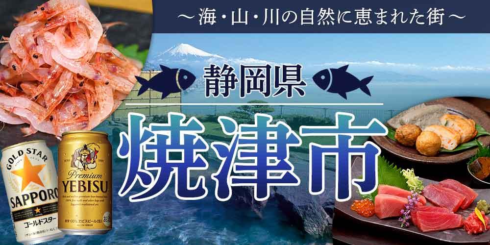 """海・山・川の自然に恵まれた街""""焼津市"""""""