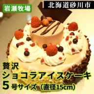 岩瀬牧場 贅沢ショコラアイスケーキ
