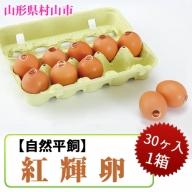 010-F10 【自然平飼】紅輝卵(30ヶ入 1箱)