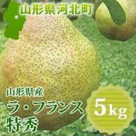 A-00919 山形県産ラ・フランス5kg(特秀)