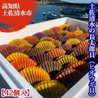 【C-35】土佐清水の長太郎貝(ヒオウギ貝)【42個入】