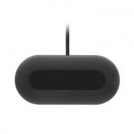 急速充電 2台同時 Qi ワイヤレス充電器+QC18W AC USB 充電器付属 (ブラック) OWL-QI10W2Q18W-BK