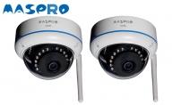 防犯カメラセット用 専用増設ワイヤレスカメラ 屋外(内)用2台