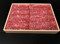 宮崎黒毛和牛<JAこゆ牛>すき焼き用(赤身肉)600g ※90日以内に出荷【B126】