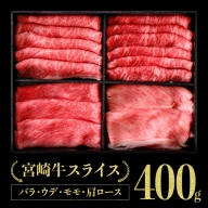 宮崎牛スライスセット 400g