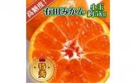 BD6035_高糖度 有田みかん 5kg 特秀品 小玉S~M