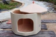 62-01_愛猫との楽しい生活を 桐製キャットハウス