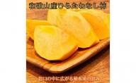 G91006_【先行予約】和歌山秋の味覚 平核無柿(ひらたねなしがき)秀品 約4kg 化粧箱入