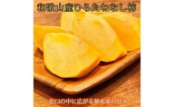G91007_【先行予約】和歌山秋の味覚 平核無柿(ひらたねなしがき)秀品 約2kg 化粧箱入
