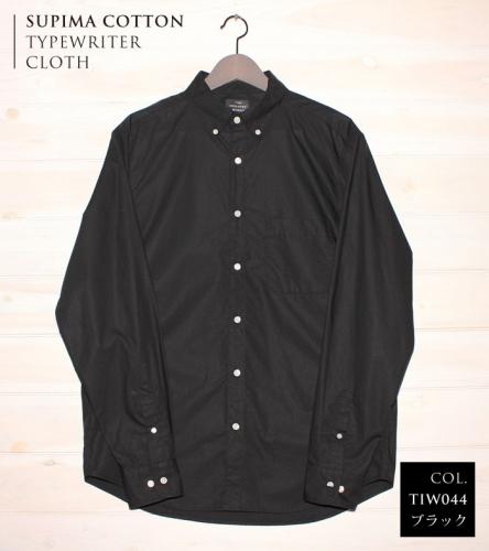 播州織メンズタイプライターシャツ「THE INDUSTRY WORKS」(1着)【TIW_044(ブラック)】 | au PAY ふるさと納税