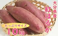 大分県産紅はるか(生芋)10kg