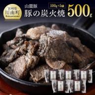 豚の炭火焼(100g×5袋)柚子胡椒付