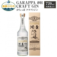 A-324 GARAPPA #01 CRAFT GIN 720ml×1本 47% 化粧箱入 クラフト ジン