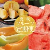 SC0210 《3回お届け》山形県庄内地方から贈る 自然の恵み夏・秋フルーツ定期便