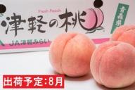 8月 『津軽の桃・旬の白桃』 約3kg秀品【青森県・平川市産】