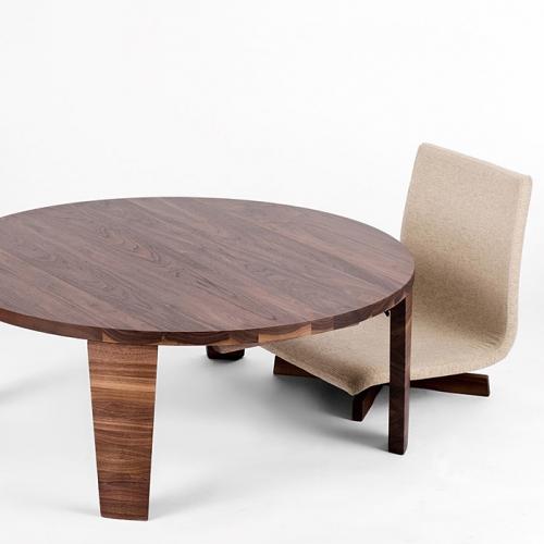 T−048.タボーロ 90ローテーブル WN【諸富家具】 | au PAY ふるさと納税