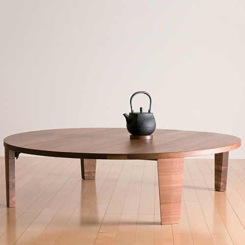 T−049.タボーロ 100ローテーブル WN【諸富家具】 | au PAY ふるさと納税