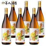 E5-2561/八千代伝酒造 黄色い椿 6本セット