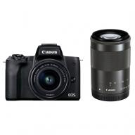 ミラーレスカメラ EOSKissM2・ダブルズームキット