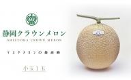 クラウンメロン(白)小玉(約0.9kg)×1玉