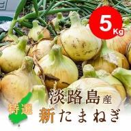 EB22◇特選【5kg】淡路島新たまねぎ