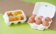 D1318 こだわりの平飼い卵30個(6個入り5パック)