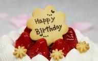 苺屋 誕生日ケ−キ生クリ−ム(いちご)5号 メッセ−ジ付き C-214