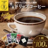 010B192 厳選ドリップコーヒー5種100袋
