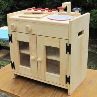050E024 手作り木製 ままごとキッチン KHM-S