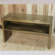 050E025 手作り木製 ベンチ