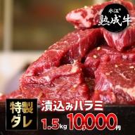 010B519 氷温(R)熟成牛 漬込みハラミ 訳あり1.5kg