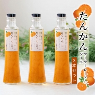 【数量限定】たんかんマーマレードソース3瓶セット