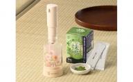 スマートスティック抹茶&あわ丸セット(アイボリー)