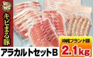 沖縄キビまる豚 アラカルトセットB(2.1kg)