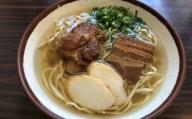 自家製麺 沖縄そば専門店「三枚肉とソーキそば」セット 4食入り
