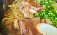【沖縄そば】自家製麺上原そば店 ソーキそばセット(茹で麺4食入り)