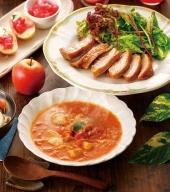 鶏肉 青森シャモロックとまとシチュー&照り焼き梅酒漬けスライスセット