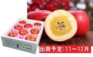 11~12月 特選こうとくりんご約2.5kg 【大江町産・山形りんご・大地農産】