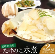 Aa25 宮崎県産筍 たけのこ水煮2kg