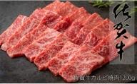 N25-9 【訳あり!期間&個数限定】佐賀牛モモ焼肉用1200g うまみが詰った赤身カルビ!