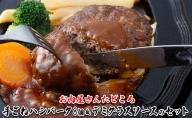 お肉屋さんの手ごねハンバーク8個&デミグラスソースのセット