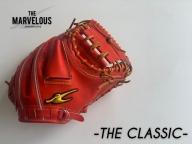 THE MARVELOUS 野球キャッチャーミット【Rオレンジ・ブラック】