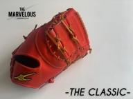 THE MARVELOUS 野球ファーストミット【Rオレンジ・ブラック】