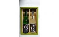 AW011_月の井 純米吟醸 続撃破率百二十%、純米酒 撃破率百二十% 2本セット
