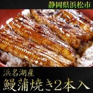 浜名湖産鰻蒲焼き2本入