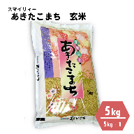 【令和3年産新米・早期受付・10月中旬より発送予定】あきたこまち 玄米 5kg 秋田県 能代市産