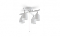 4灯シーリングライト クロス形 CE4LA-20C-W