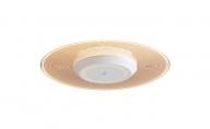 小型シーリングライト 導光板 1500lm 人感センサー付 電球色 SCL-150LMS-LGP
