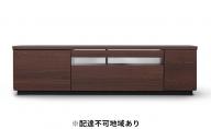 ボックステレビ台 アッパータイプBTS-GD150UK(ダークウォールナット)