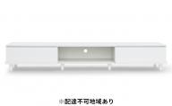 テレビ台 ボックスタイプBAB-180A(オフホワイト)